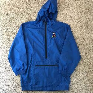 Kids Disney Mickey 1/4 zip light weight jacket.